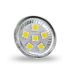 billige LED-lyspærer-4W 350 lm GU4(MR11) LED-spotlys MR11 6 leds SMD 5050 Dekorativ Kold hvid DC 12V