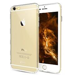 Недорогие Кейсы для iPhone 6-Кейс для Назначение Apple iPhone 6 Plus / iPhone 6 Прозрачный Кейс на заднюю панель Однотонный Твердый ПК для iPhone 6s Plus / iPhone 6s / iPhone 6 Plus