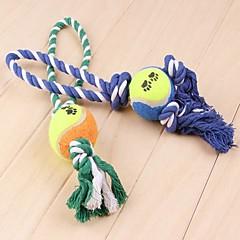 tanie -Zabawka dla psa Zabawki dla zwierząt Zabawki do żucia Interaktywne Lina Dla zwierząt domowych