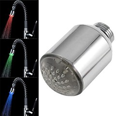 8002-a20 de mini sensor de temperatura de la corriente de agua con estilo luminoso luz del grifo de luz LED (de cobre)