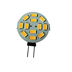 お買い得  LED 電球-1.5 W 3000-3200 lm G4 LEDスポットライト 12 LEDビーズ SMD 5630 温白色 12 V