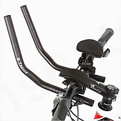 biking® 서쪽 자전거 경주 자전거 MTB 알루미늄 합금 트라이 애슬론 에어로 핸들 나머지 핸들은 2PCS 파이프 받침대를 분리