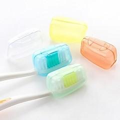 abordables Salud durante el Viaje-Protector/Envase de Viaje para Cepillo de Dientes Impermeable Portátil Antibacteriano Aseo Personal De tamaño mini Material para Uso