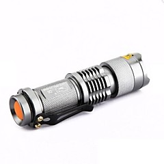 Latarki LED Latarki ręczne LED 300 Lumenów 1 Tryb Cree XR-E Q5 14500 AA Mini Regulacja promienia Odporne na czynniki zewnętrzne Uchwyt