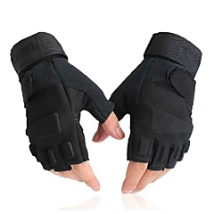 Rękawiczki sportowe Rękawiczki rowerowe Ultraviolet Resistant Oddychający Wearproof Ochronne Taktyczna Bez palców Lycra Kolarstwo / Rower