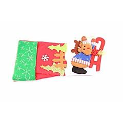 abordables Decoraciones-navidad regalos de alto grado de los niños calcetines el árbol de navidad dornaments