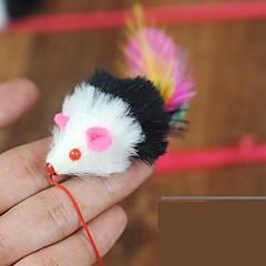 hesapli -Kedi Kedi Oyuncağı Evcil Hayvan Oyuncakları Teasers Tüylü Oyuncaklar Mouse Evcil hayvanlar için