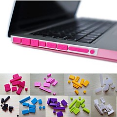 "abordables Fundas para Teclado Mac-macbook air silicone 11.6 ""/13.3"" dust plug mac cubre teclado"