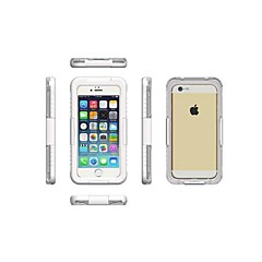 Для Кейс для iPhone 6 / Кейс для iPhone 6 Plus Водонепроницаемый / Прозрачный Кейс для Чехол Кейс для Один цвет Твердый PCiPhone 6s
