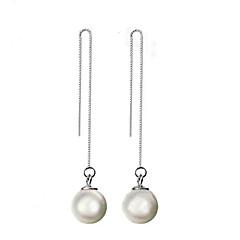 Dame Dråbeøreringe kostume smykker Perle Sølv Smykker Til