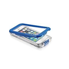 Varten iPhone 5 kotelo Vedenkestävä / Läpinäkyvä Etui Kokonaan peittävä Etui Yksivärinen Kova PC iPhone SE/5s/5