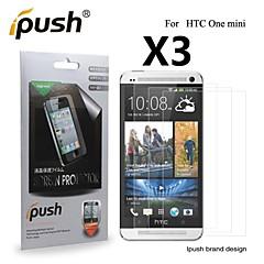 abordables Protectores de Pantalla para HTC-Protector de pantalla HTC para PET 3 piezas Ultra Delgado