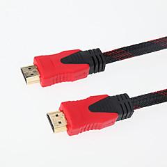 お買い得  HDMIケーブル-PCのラップトップハイビジョンDVDのPS3用のオスの高速金メッキコンピュータケーブルに20メートル65.6フィートのHDMIオス - 黒