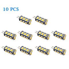 preiswerte LED-Birnen-10 Stück 2 W 100-150 lm G4 LED Glühlampen 18 LED-Perlen SMD 5050 Warmes Weiß / Kühles Weiß 12 V