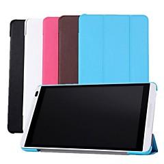 """lederen stand tablet dekking van het geval voor Huawei MediaPad m1 8 """"s8-301u / w s8-303l tablet"""