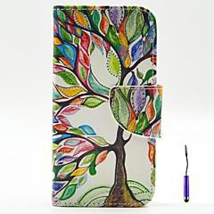 Недорогие Чехлы и кейсы для Motorola-Кейс для Назначение Motorola Кейс для Motorola Бумажник для карт Кошелек со стендом Флип Чехол дерево Твердый Кожа PU для