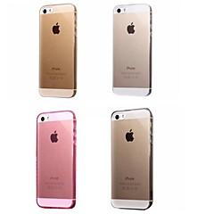 Недорогие Кейсы для iPhone 6-Кейс для Назначение Apple iPhone 8 / iPhone 8 Plus / iPhone 7 Ультратонкий / Прозрачный Кейс на заднюю панель Однотонный Мягкий ТПУ для iPhone 8 Pluss / iPhone 8 / iPhone 7 Plus
