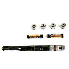 Kynän muotoinen - Alumiiniseos - Vihreä laserosoitin