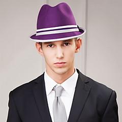 Недорогие Женские украшения-мужская вечеринка / вечерний каузальный жених / шерстяной головной убор-случайные шляпы