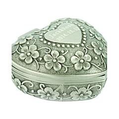 pudełka na biżuterię ze stopu srebra wesele elegancka kobieca stylizacja