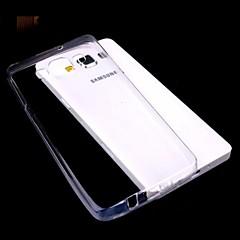 yksivärinen läpinäkyvä ohut TPU Samsung Galaxy a3
