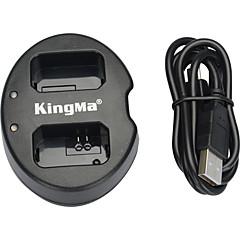 kingma® podwójne gniazdo USB ładowarka do akumulatorów Sony NP-FW50 akumulator do NEX-5C NEX-c3 NEX-7 a33 a55 NEX-5N NEX-F3 SLT-A37 aparatu NEX-7