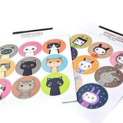 estilo coreano multifunción sellado decorativos pegatinas bricolaje hornear (2 * 9 pegatinas / pcs)