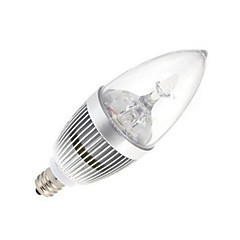 E14 LED-stearinlyspærer 5 leds Højeffekts-LED Varm hvid Kold hvid 120lm 2800-3500/6000-6500K Vekselstrøm 85-265V