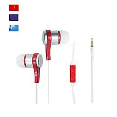 Słuchawki douszne - Słuchawki WD008 - Przewodowy - Odtwarzacz multimedialny / tablet/Telefon komórkowy/Komputer - z mikrofonem -