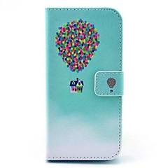 Для Кейс для iPhone 6 / Кейс для iPhone 6 Plus Кошелек / со стендом / Флип Кейс для Чехол Кейс для Занавес Твердый Искусственная кожа