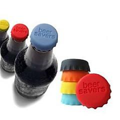 abordables ¡Todo por Menos de 1'45€!-tapones de materiales de silicona color caramelo (color al azar)