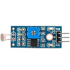お買い得  センサー-Arduinoのための1ウェイフォト抵抗センサモジュール(公式Arduinoのボードで動作します)