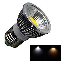 tanie Żarówki LED-3W 280 lm E26/E27 Żarówki punktowe LED 1 Diody lED COB Przysłonięcia Ciepła biel Zimna biel AC 100-240