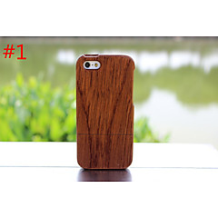 реальный натуральный бамбук деревянный чехол жесткий чехол для iphone яблоко 5с
