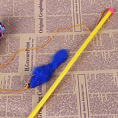 お買い得  犬用おもちゃ-犬用品 / 猫用品 おもちゃ インタラクティブ キーッ 織物 ブルー