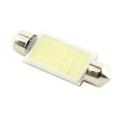 Недорогие Освещение салона авто-SO.K 41mm Автомобиль Лампы 3W COB 200 lm Внутреннее освещение
