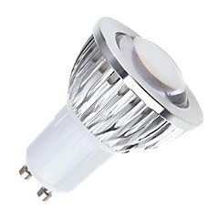 GU10 PAR лампы MR16 1 COB 450 lm Тёплый белый Холодный белый Естественный белый К Диммируемая AC 85-265 V