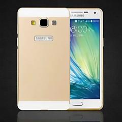 speciale ontwerp effen kleur metalen achterkant en bumper voor Samsung Galaxy a5