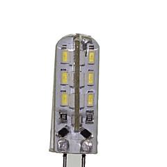 G4 LED-lampa T 24 lysdioder SMD 3014 Dekorativ Varmvit Kallvit 180-220lm 3000-3500 600-6500K DC 12 AC 220-240 AC 12V