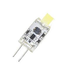 preiswerte LED-Birnen-SENCART 1W 3000-3500/6000-6500 lm G4 LED Mais-Birnen T 2 Leds SMD 3014 Dekorativ Warmes Weiß Kühles Weiß Wechselstrom 12V DC 12V