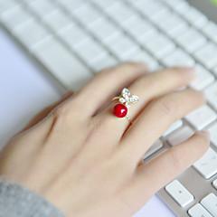 preiswerte Ringe-Damen Bandring - Acryl, Strass, Aleación Schmetterling, Tier Ohne Verschluss Verstellbar Für Hochzeit Party Alltag