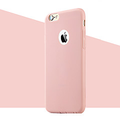 abordables Accesorios para iPhone 6s/6-Funda Para Apple iPhone 8 / iPhone 8 Plus / iPhone 6 Plus Ultrafina Funda Trasera Un Color Suave TPU para iPhone 8 Plus / iPhone 8 / iPhone 6s Plus