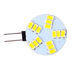 preiswerte LED-Birnen-3 W 350 lm G4 LED Doppel-Pin Leuchten 15 LED-Perlen SMD 5730 Warmes Weiß / Kühles Weiß 12 V / 1 Stück / RoHs / CCC