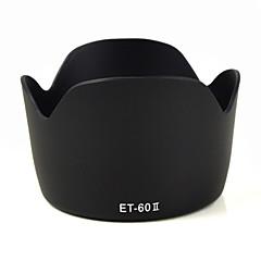 mengs® et-60 ii petale parasolar formă pentru Canon EF 75-300mm f / 4-5.6 III, EF-S 55-250mm f / 4-5.6 este