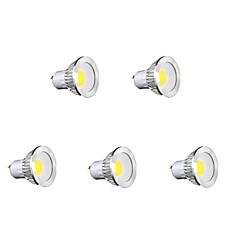 cheap LED Bulbs-GU10 LED Spotlight MR16 1 COB 450 lm Warm White Cold White Natural White K AC 85-265 V