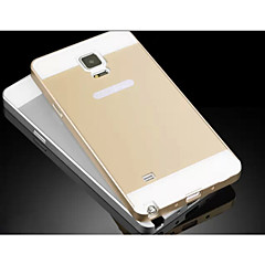 Na Samsung Galaxy Note Etui Pokrowce Other Etui na tył Kılıf Jeden kolor Akrylowy na Samsung Note 4
