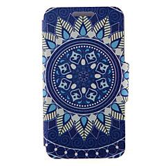 Для Кейс для Sony / Xperia Z3 Бумажник для карт / Флип Кейс для Чехол Кейс для Одуванчик Твердый Искусственная кожа для SonySony Xperia