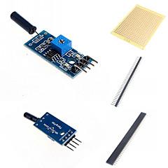 vibration sensor modul og tilbehør til Arduino