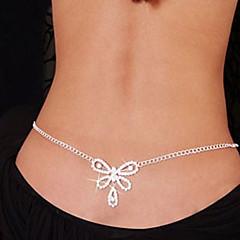 Damskie Biżuteria Łańcuszek na brzuch Łańcuch nadwozia / Belly Chain Unikalny Modny Sexy biżuteria kostiumowa Kryształ górski Imitacja