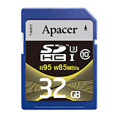 Apacer 32Gb SD Card geheugenkaart UHS-I U3 Class10